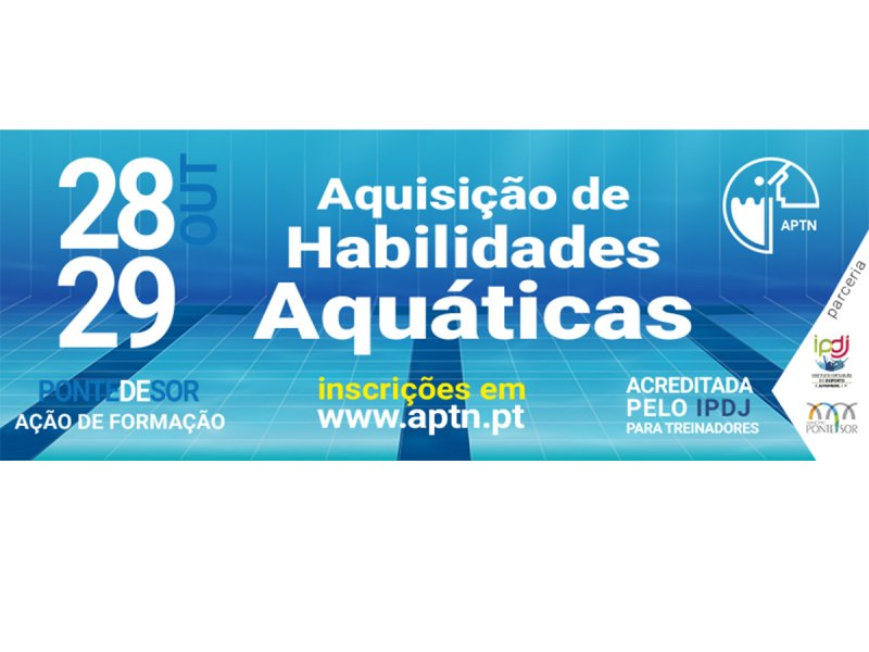 Ação de Formação Aquisição de Habilidades Aquáticas APTN