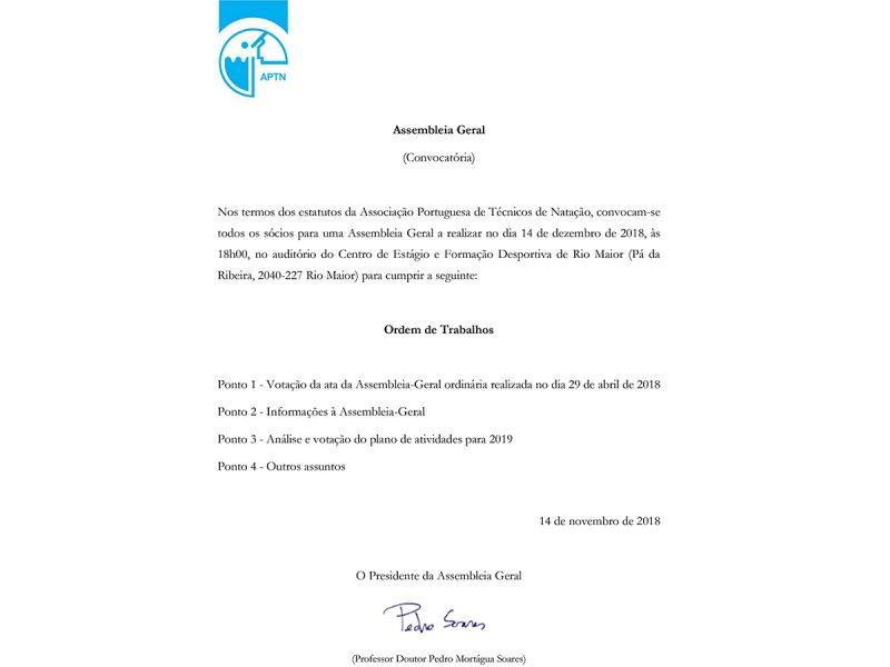 APTN Associação Portuguesa de Técnicos de Natação