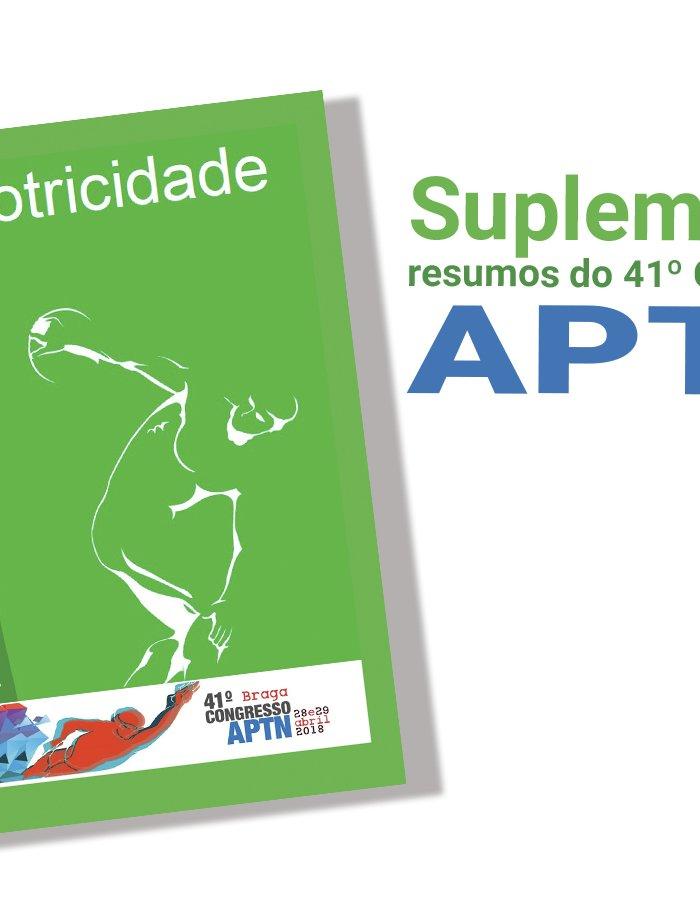 Revista MOTRICIDADE APTN Resumos do 41º Congresso