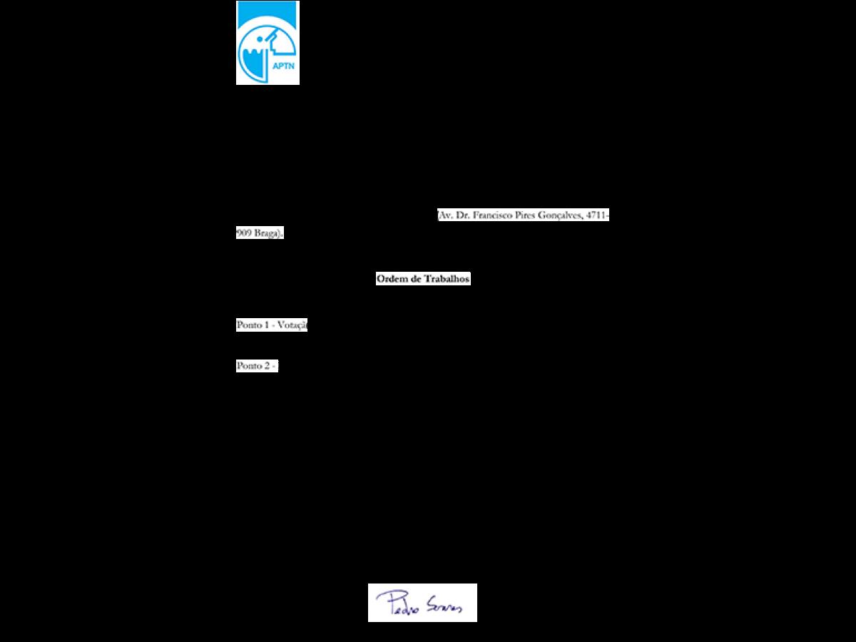 APTN - Assembleia Geral 2018